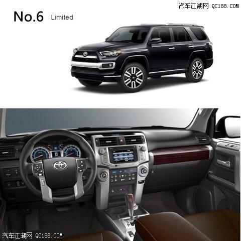 2018款丰田超霸4runner 美规加版天津港现车