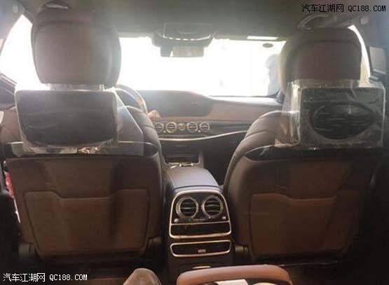 2018款平行进口奔驰S450现车实拍性能配置介绍