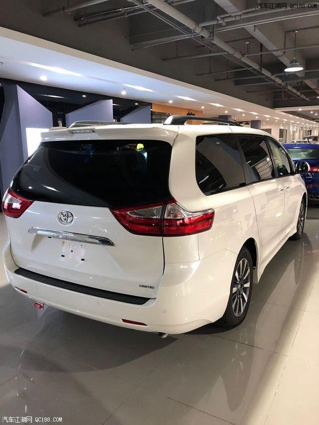 18款丰田塞纳LTD版配置详情 简洁流畅商务车 最新报价