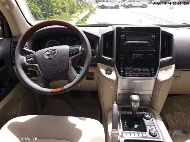 18款丰田酷路泽4.0报价 中东版越野大促销