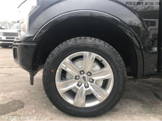 福特F150猛禽白色黑色豪华配置改装效果图及价格