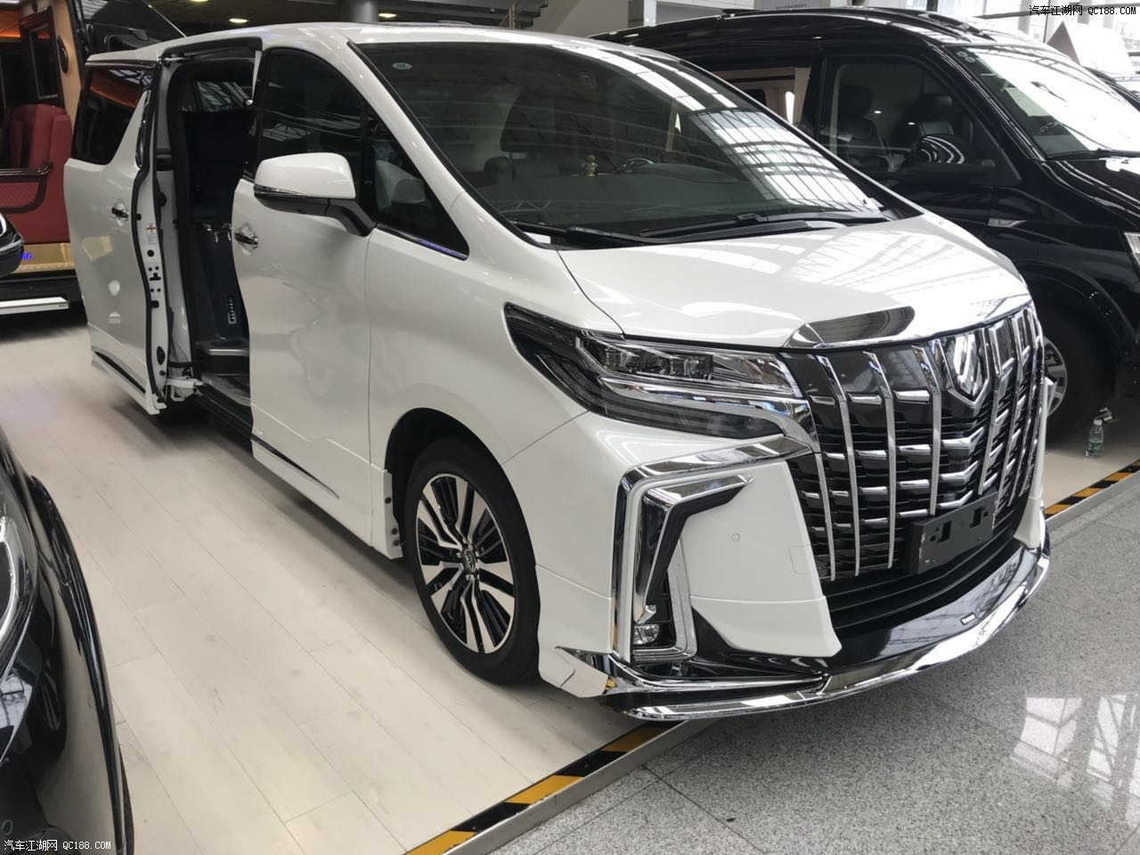 19款丰田埃尔法奢华保姆车天津港报价售全国