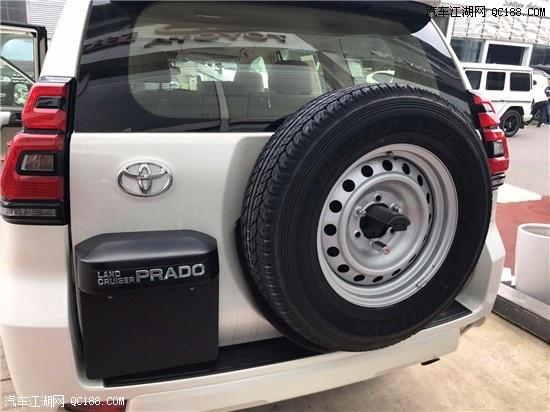 平行进口新款丰田普拉多2700简洁大气越野性能安全可靠