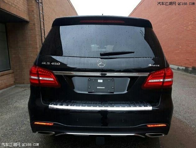 18款加版奔驰GLS450全尺寸SUV现车实拍黑/黄鹤