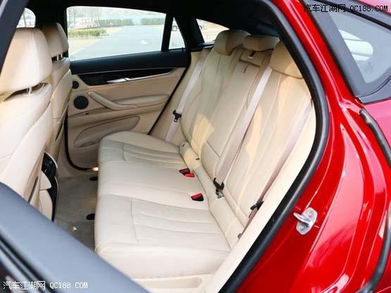 天津港18款宝马X6红色外观现车当天可提回家
