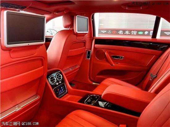 平行进口宾利飞驰V8S 最后一台带后娱的宾利飞驰