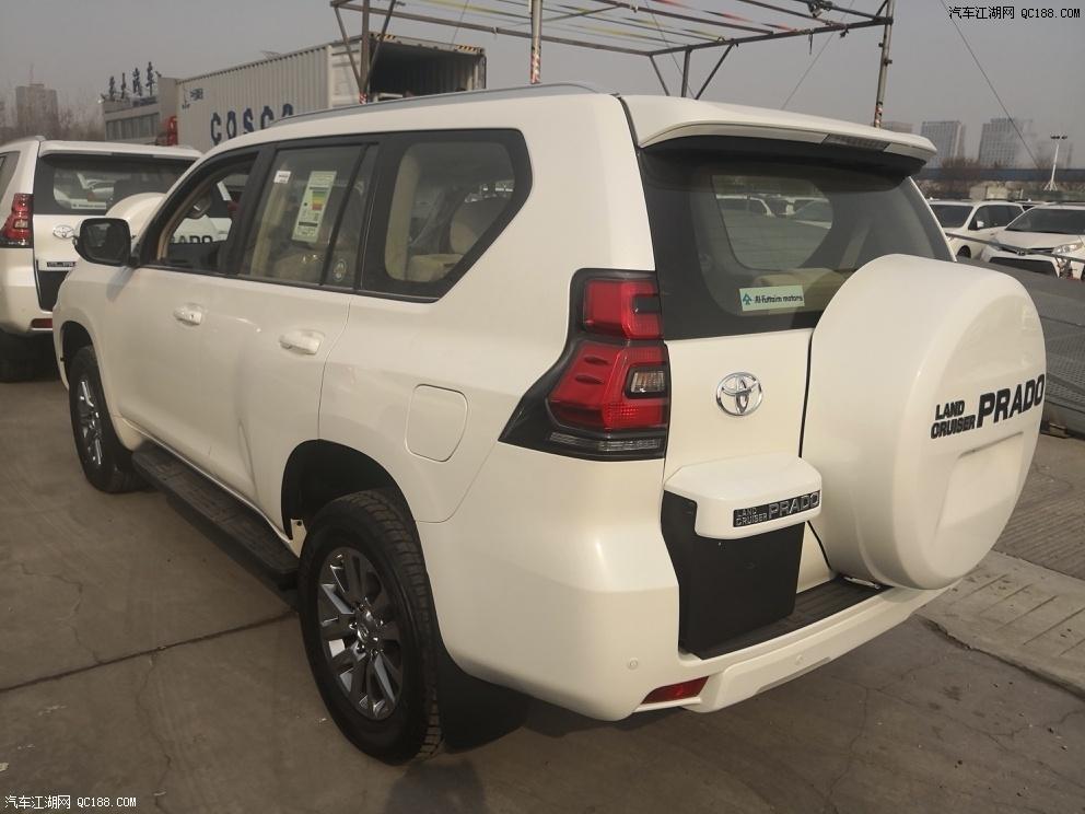 江西19款中东版丰田霸道普拉多4000北京提车包上牌详解