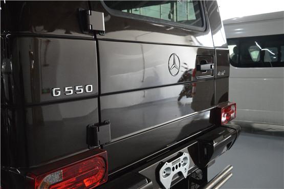 平行进口18款奔驰G550 4*4 最帅的大G550价格