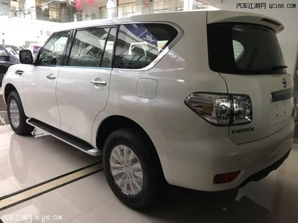 19款日产途乐中东版4.0XE低配天津港现车优惠价格