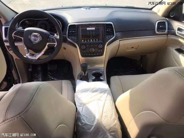 17款Jeep大切诺基3.6L裸车38万售全国可分期无附加费用