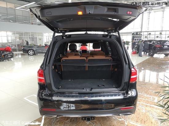 19款加版奔驰GLS450黑黄鹤现车配置颜色售价