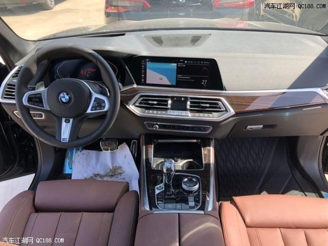 19款X5加版M运动碳蓝黑实拍图 新款X5平行进口标配底升