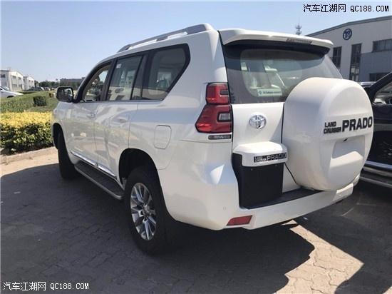 国五19款丰田霸道4000价格 中东越野底价大促销