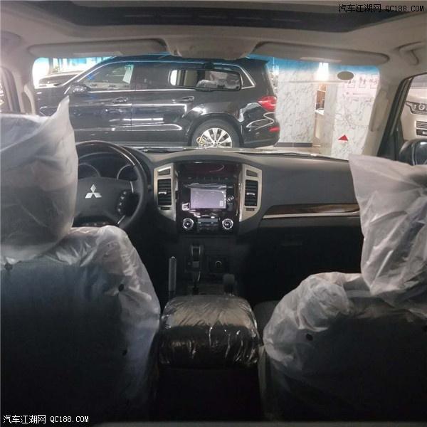 18款三菱帕杰罗V87国五降价5万天津港历史最低价