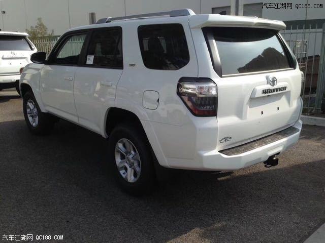 北美版丰田霸道 配4.0L发动机 不到50万 还买普拉多