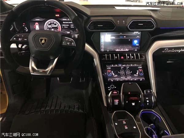 2019款兰博基尼SUV为驾驶者提供一种飞行器驾驶感