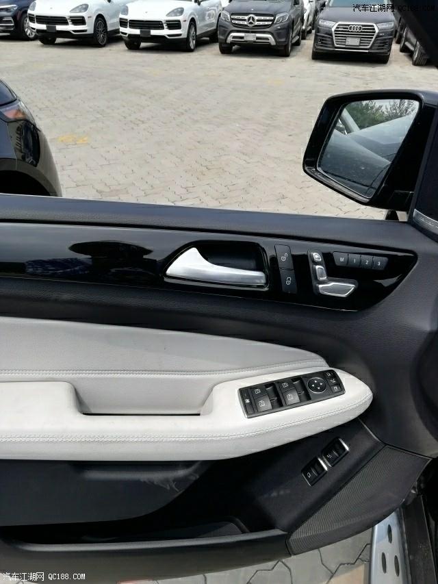 平行进口19款奔驰GLS450 标配和高配差什么价格差多少