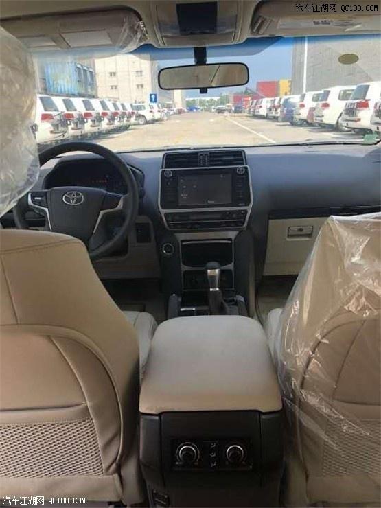 19款全新霸道4000中东版天津港现车多台价格优惠