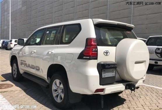 平行进口19款丰田普拉多4000最新动力测评及图片解读