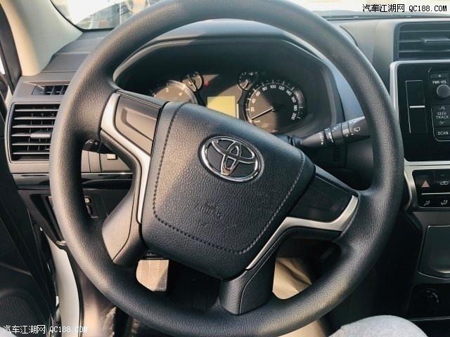 丰田普拉多柴油版现车多少钱 19款柴油霸道哪里有现车