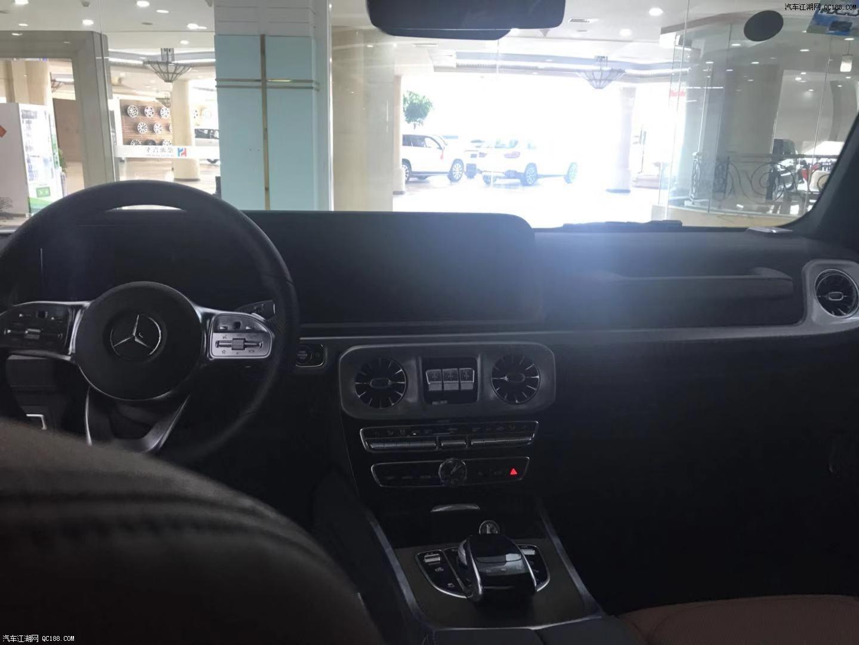 19款奔驰G500平行进口车国六排放现车最新报价
