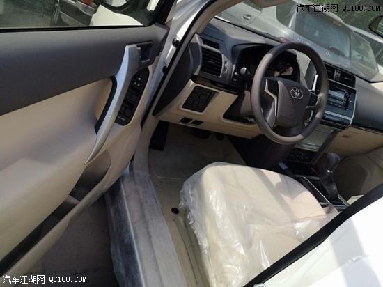 2020款丰田普拉多2700四驱越野配置解析