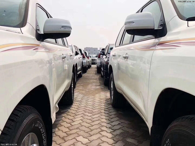 中东19款丰田酷路泽4000现车价格 现车充足