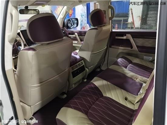 酷路泽4000改装GT包围 真皮座椅 港口现车