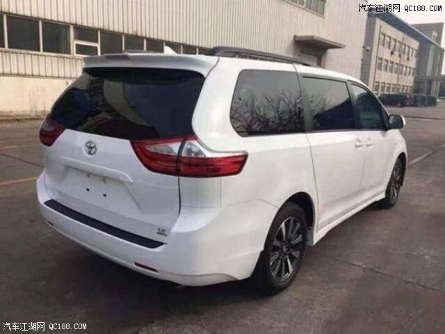 20款丰田塞纳3.5配置价格空间天津港现货
