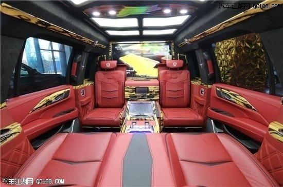 19款平行进口凯迪拉克总统一号,现车优惠!