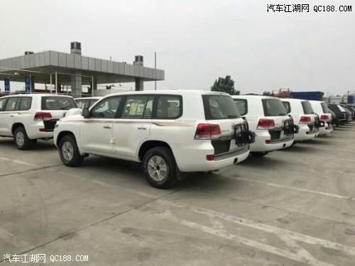 19款丰田酷路泽4000天窗外挂18轮现车价格多少