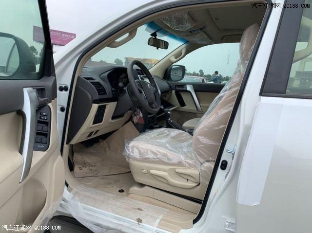 19款丰田普拉多2700中东版昆明现车随时可提 天津直销