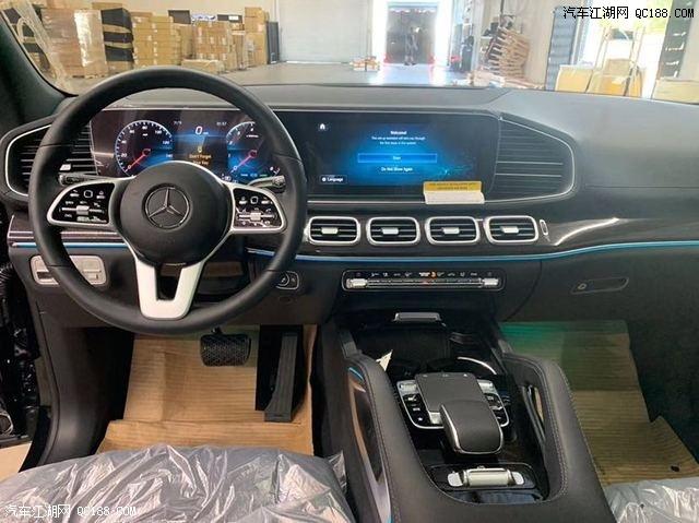 奔驰GLS450美规版20款6座全景20轮最新优惠报价可分期