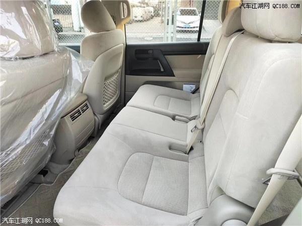 20款平行进口丰田酷路泽4000中东版年后价格