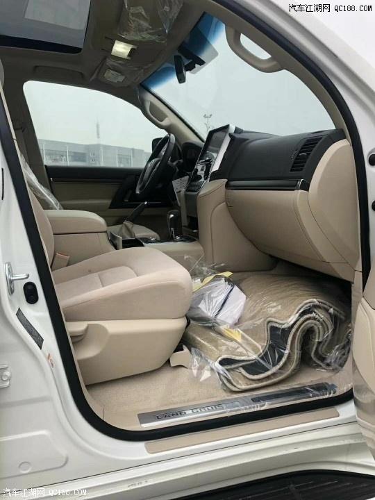 中东版2020款丰田酷路泽4000分期购车红河包牌有质保