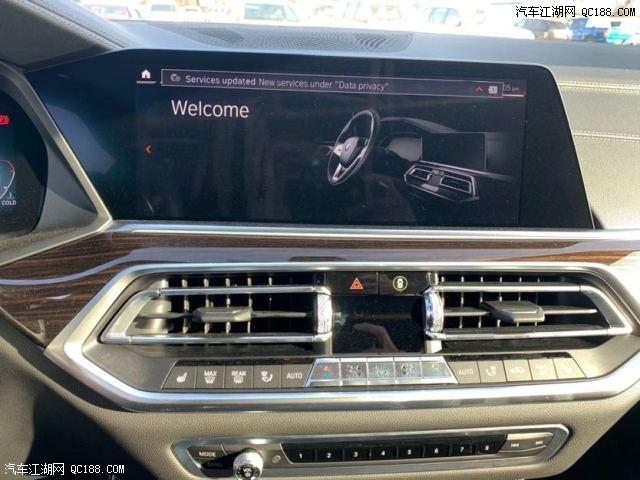 平行进口经销商20款宝马X5昆明现车配置解读实拍评测