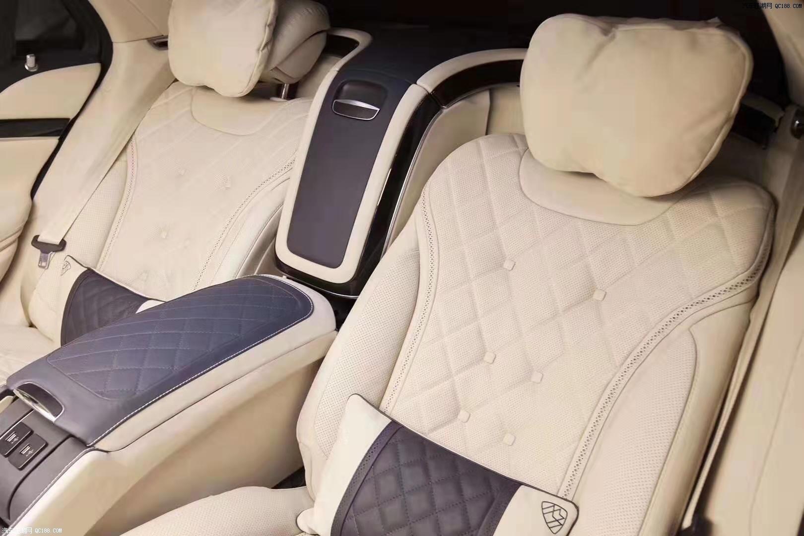 19款奔驰迈巴赫S560加长四座普尔曼