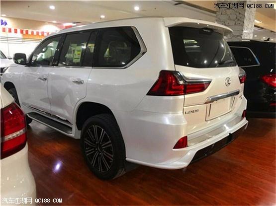2020款中东雷克萨斯LX570限量版 港口现车降价促销