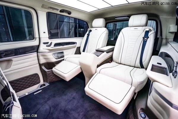 山东20款奔驰V250加长商务顶级改装现车价格优