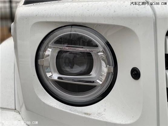 20款平行进口奔驰G350d柴油版库房实拍