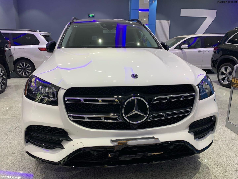 2020款奔驰GLS450现车到店实拍