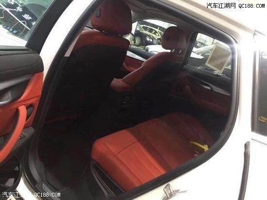 平行进口19款宝马X6中东版时尚气质3.0T配置及图片