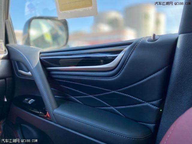 20款中东版雷克萨斯LX570黑耀限量S国五现车优惠