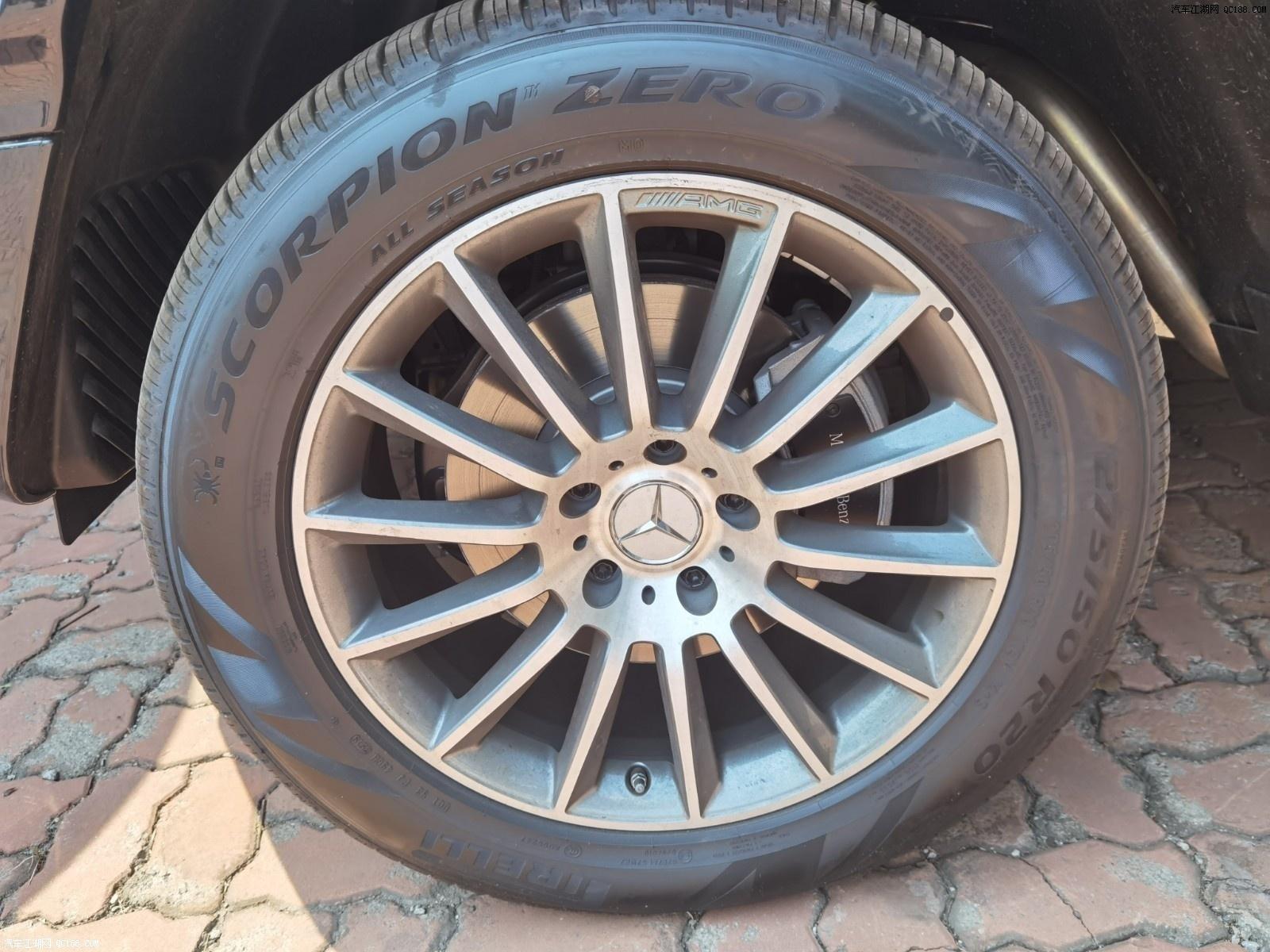 墨西哥版20款进口奔驰G500实用