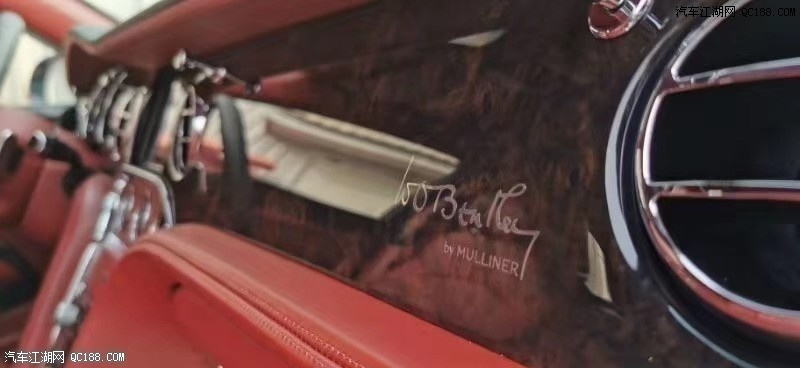 20款宾利慕尚加长版美规版港口现车实拍