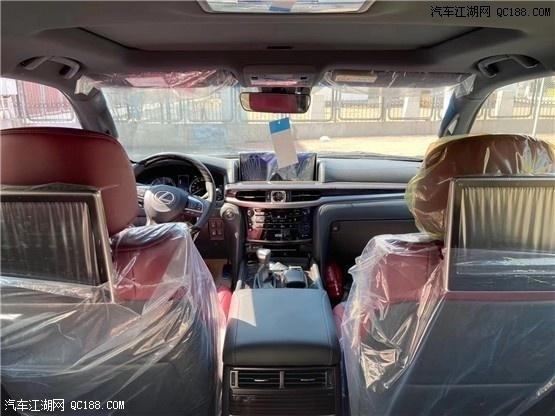 中东版2020款进口雷克萨斯LX570库房现车手续齐