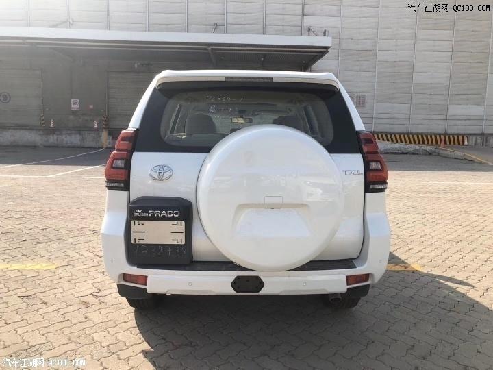 20款中东丰田霸道普拉多2700现车配置报价多少钱