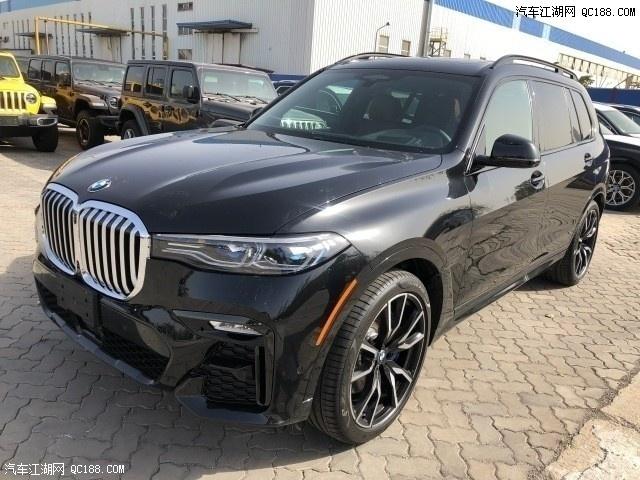 2020款宝马X7奢华大型SUV详细报价现车实拍