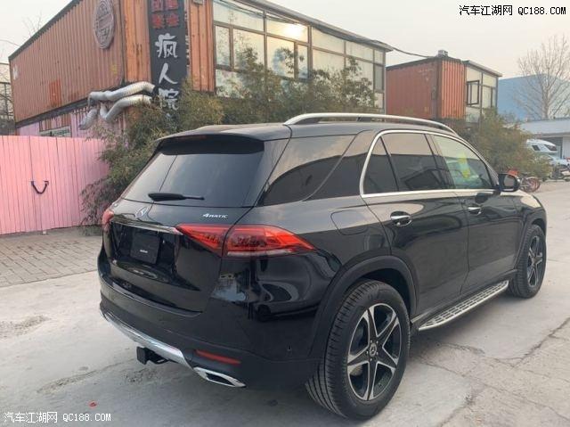 云南昆明经销店2020款奔驰GLE450墨版现车75万特价出