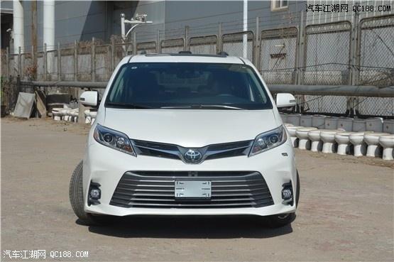 美规进口2020款丰田塞纳宽敞舒适空间云南现车降价